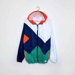 Ethik NY colour block windbreaker spring jacket
